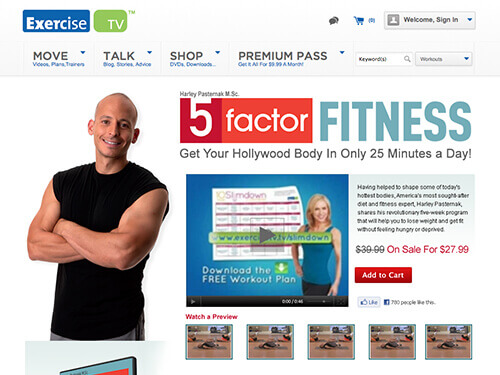ExerciseTV | 5 Factor Fitness