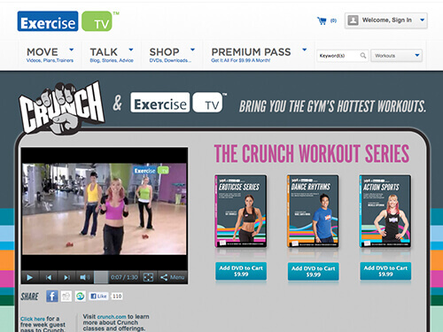 ExerciseTV | Crunch Fitness