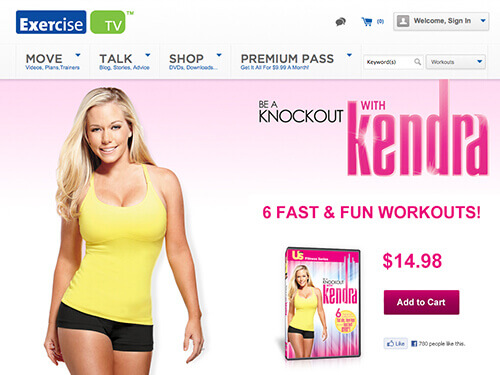 ExerciseTV | Be a Knockout With Kendra