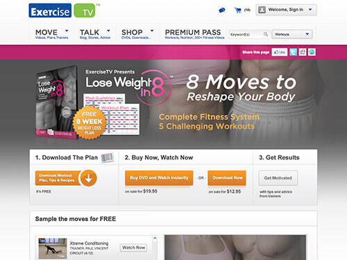 ExerciseTV | Lose Weight in 8