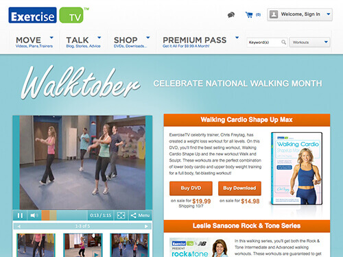 ExerciseTV | Walktober